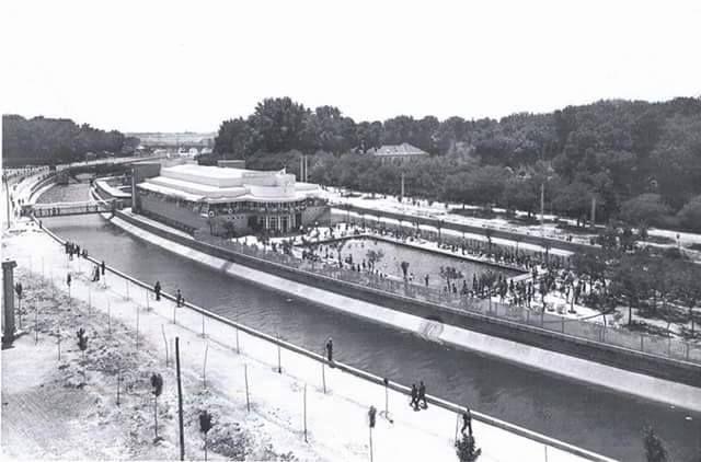 Piscina LA ISLA. Luis Gutiérez Soto, 1931