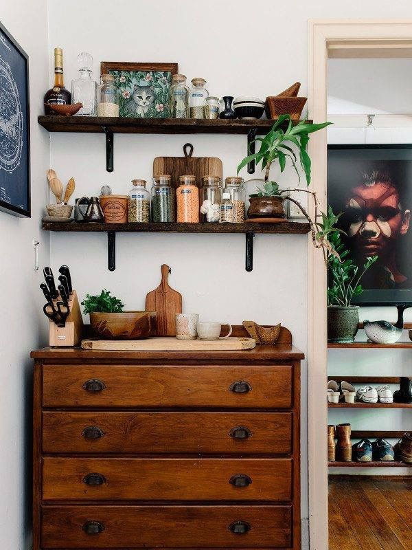 """Love this for """"Linen Cabinet"""" and an extra space to display my favorite plants & photos. #archetype312"""