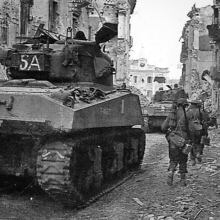 On this day, 20 December 1943, the Loyal Edmonton Regiment and the Seaforth Highlanders of Canada, supported by the 12th Canadian Armoured Regiment, attacked German forces holding Ortona. The battle would last a week, until 27 December when the German paratroops withdrew.