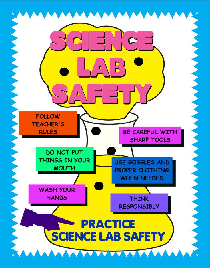 Science Lab Safety is very important!