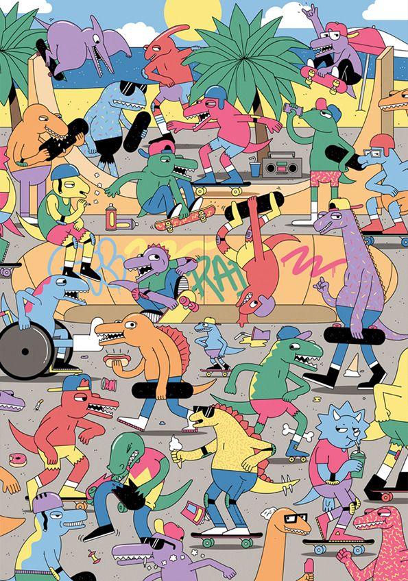 Dan Woodger: Jurassic Skate Park