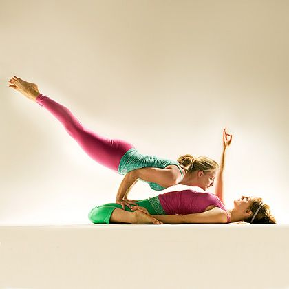 42 best partner yoga images on pinterest
