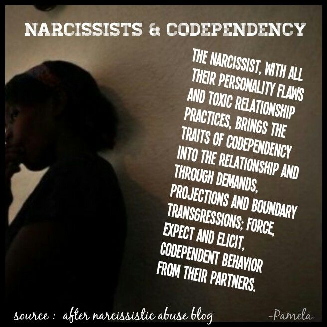 why are codependents attracted to narcissists