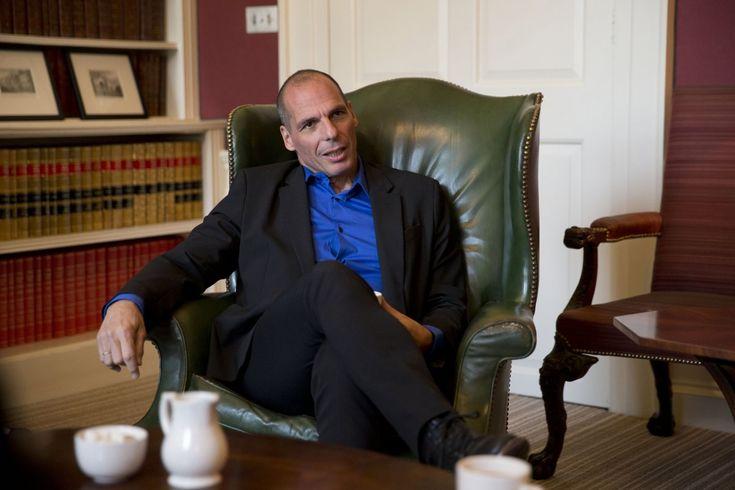 Yanis Varoufakis, resigning greek minister, to me a modern hero.