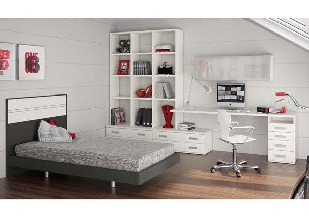 M s de 1000 ideas sobre dormitorios juveniles modernos en - Diseno habitacion infantil ...