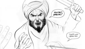 """New York Times hypocrisy is stark and absolute: """"we do not normally publish images or other material deliberately intended to offend religious sensibilities"""" — unless it offends a group that is not committing mass murder.  30May15"""