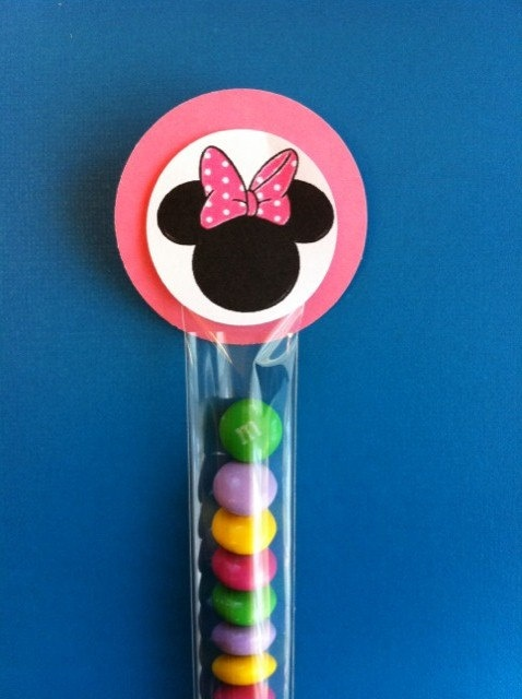 Minnie Mouse party favors by PartyTime123 on Etsy, $1.00