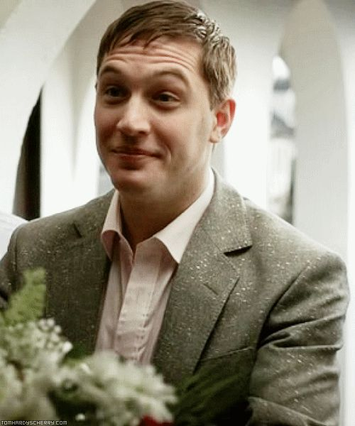 Tom Hardy from the mini-series,  The Take.