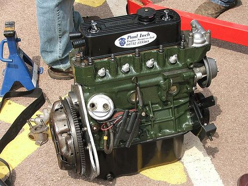 mg midget engines rebuilt