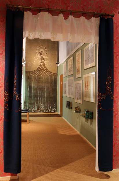 """""""Måsen"""" rya / """"Lokki"""" ryijy / """"Seagull"""" hooked rug (Eklund, 1905) #EKTAMuseumcenter #Jugend #Billnäs #Ekenäs #Rya #Hoodedrugs"""