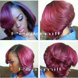 The 25 best short sew in hairstyles ideas on pinterest short short sew in hairstyles google search urmus Images