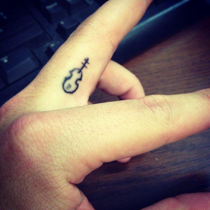 Little Violin Tattoo All Strung Out Violin Tattoo Small Tattoos Tattoos