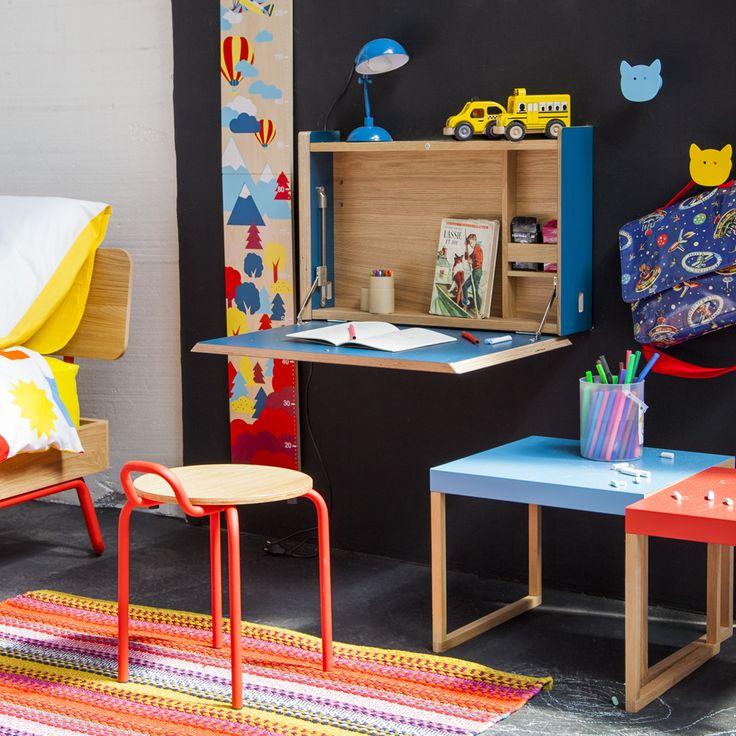 17 meilleures id es propos de table murale rabattable sur pinterest table - Secretaire mural ikea ...