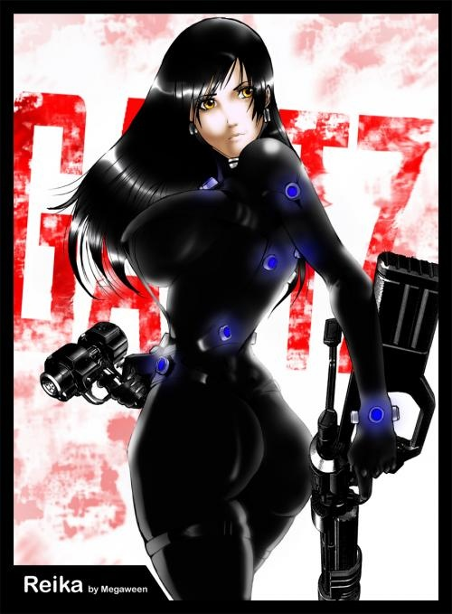 Anime is about fight for other chance in life (Gantz by Hiroya Oku)
