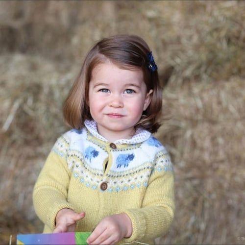 Tanti auguri piccola Charlotte di Cambridge!