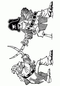 17 best Disney Pirates of the Caribbean coloring pages