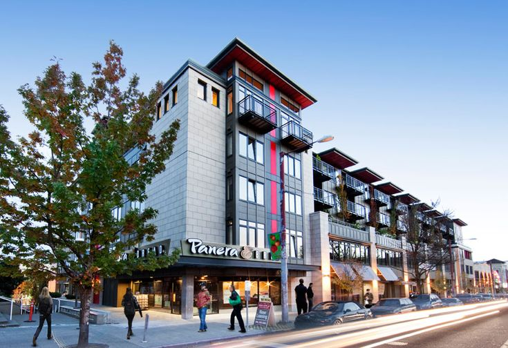 Mixed Use Broadway Building in Seattle | Infill ...