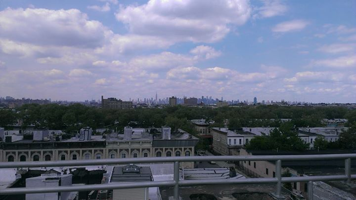 Roof Top view of Manhattan