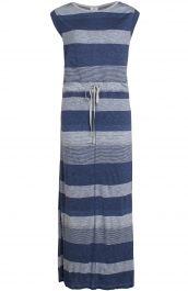 Lange gestreepte jurk   Anna Blue