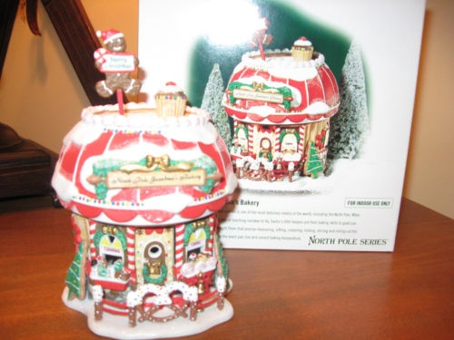 Department 56 North Pole Village Grandma's Bakery