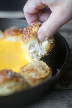 Hot Beer Cheese Dip recipe