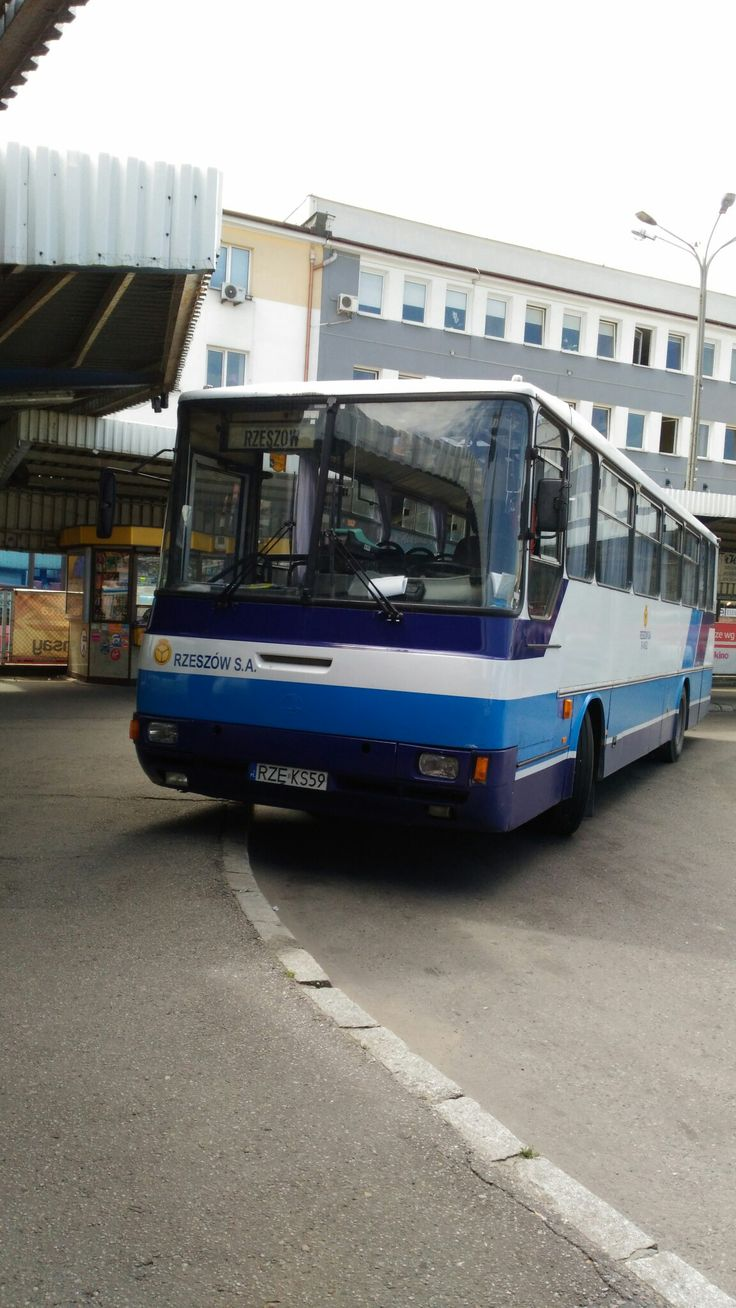 Intercity bus in Rzeszów, Poland Autosan H10