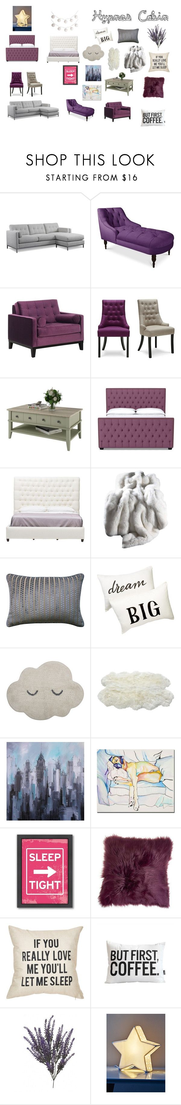 """hypnos cabin"" by julia-a-grossman ❤ liked on Polyvore featuring interior, interiors, interior design, home, home decor, interior decorating, DutchCrafters, Armen Living, Nordstrom Rack and Bloomingville"