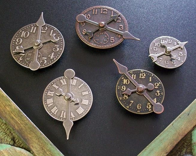 Wedding Gift Clock: Favors Gifts Steampunk Clocks Time Magnets