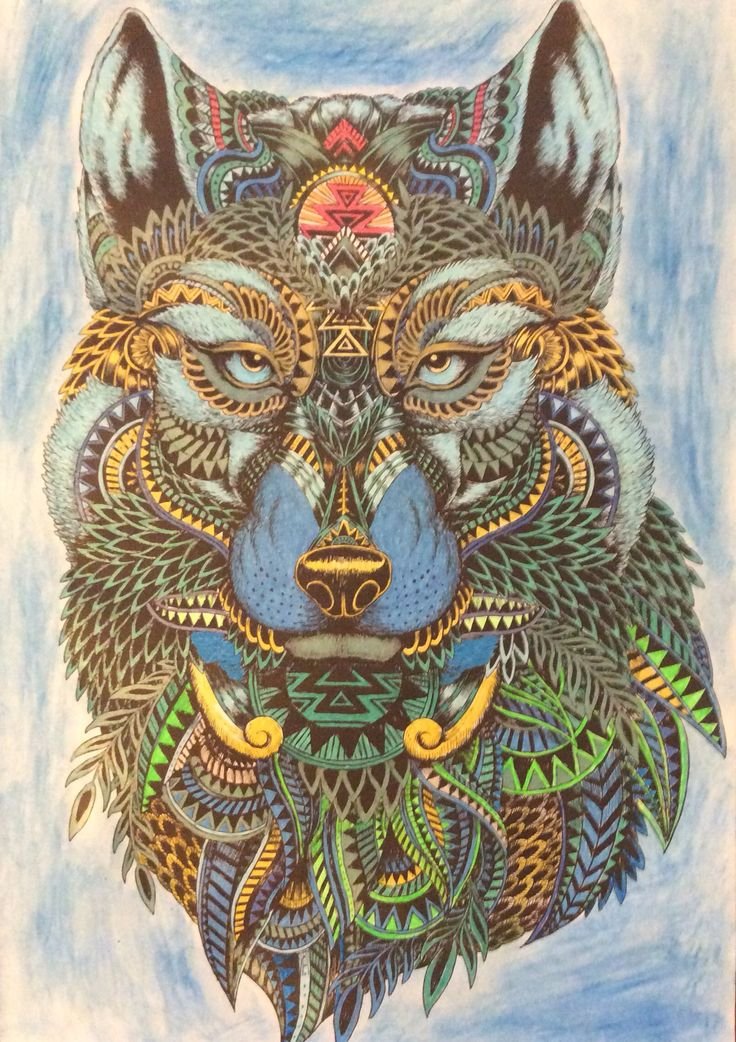 24 best images about color book the menagerie on pinterest Magnificent animals coloring book