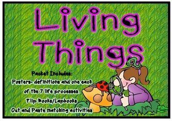 Living things - 7 Life Processes Packet (scheduled via http://www.tailwindapp.com?utm_source=pinterest&utm_medium=twpin&utm_content=post8454758&utm_campaign=scheduler_attribution)