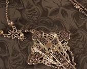 """Collier-chapelet """"Pater Noster"""" - perles & calvaire : Collier par le-reliquaire sur ALittleMarket"""
