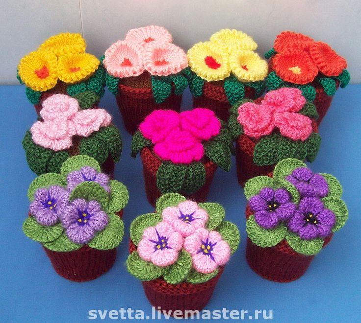 Crochet Amigurumi Flowers : Cantik ! svetta.livemaster.ru Crochet Pinterest ...