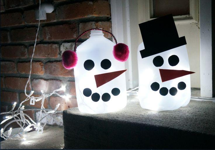 Cute Christmas Snowman Craft!