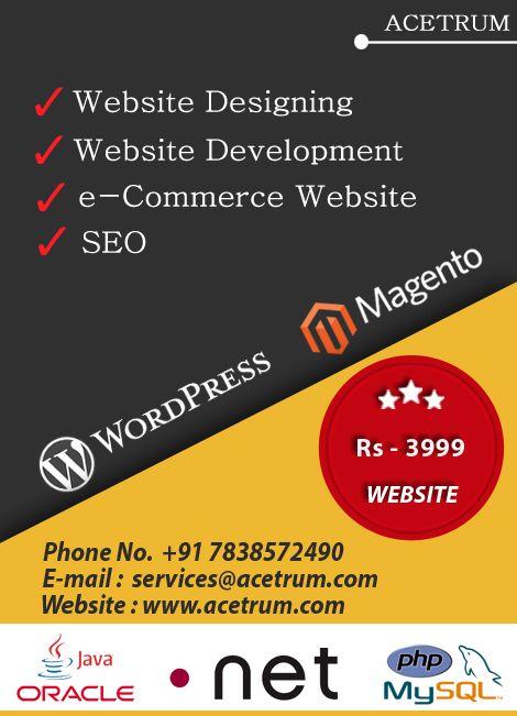 Website development in delhi ncr, website designing in delhi, seo services in delhi - We are a software development company located in Delhi India, provides website designing website development, mobile apps development.
