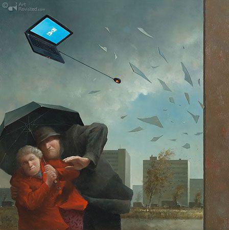 %$#@#! Computer!   by Marius van Dokkum (Dutch artist)