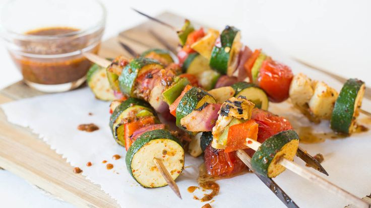 Brochettes de légumes faciles