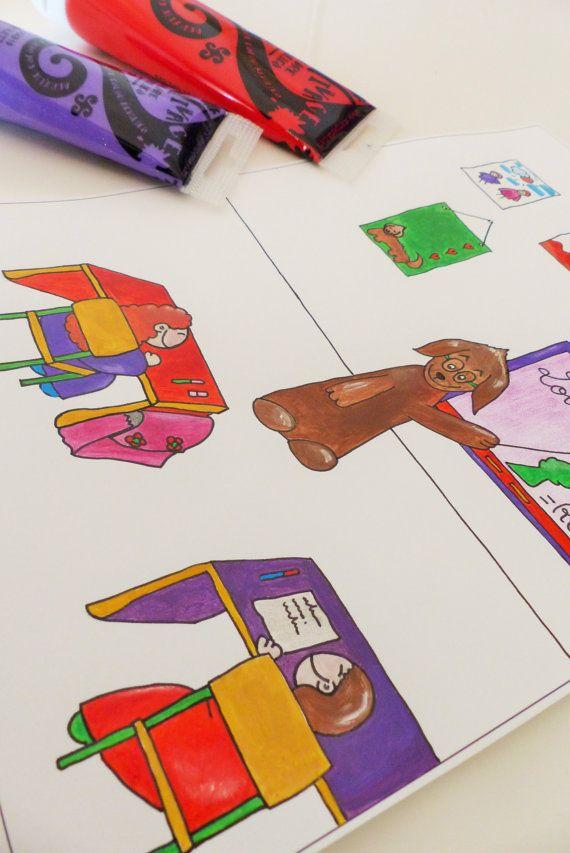 Disegno Illustrazione Originale.Pittura di RossoViola su Etsy, €14.00