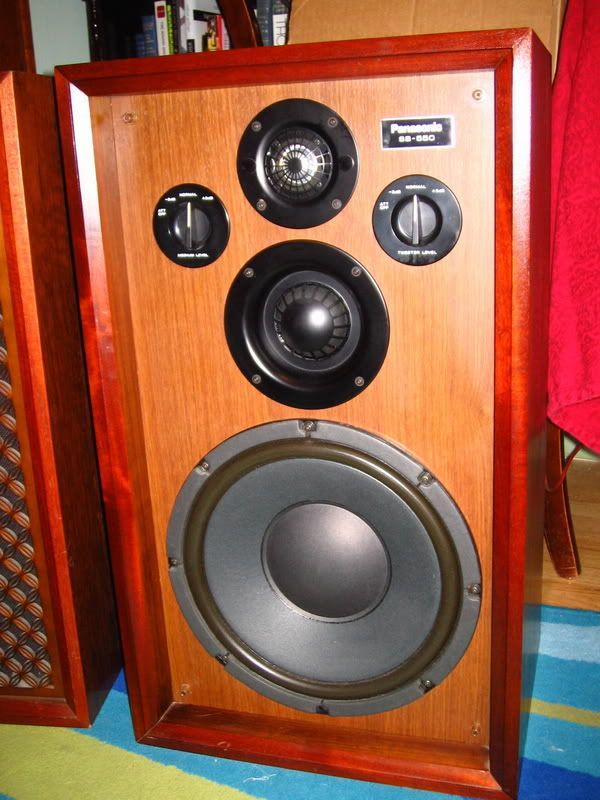 Not The Exact Set Of Speakers I Have, But Close Looking. Panasonic Speakers  Are