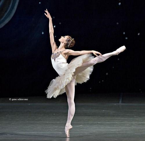 "Ekaterina Kondaurova in ""Diamonds"" from George Balanchine's ""Jewels"" # photo by Gene Schiavone"