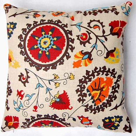 Cushion Cover Multicoloured 43 x 43cm BOHO Decor Throw Day Bed Couch Pillow Case
