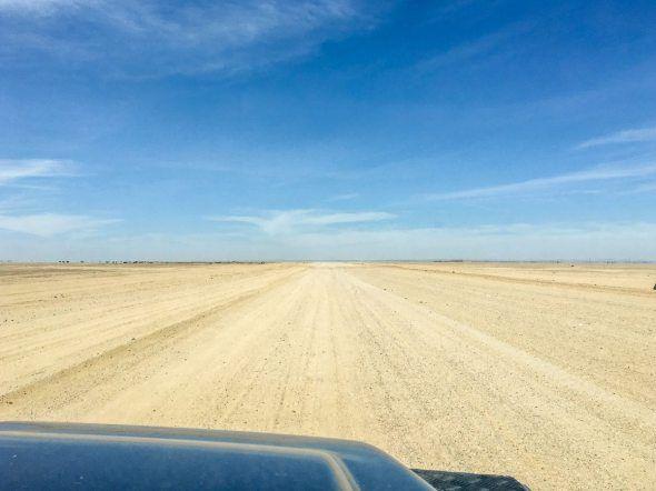 Durch die Wüste zur Spitzkoppe, Namibia