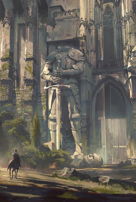 Statussymbole in der Fantasy-World. 1. Zwanzig Meter hohe Statue am Eingang. 2. Zehn Meter Pforte. 3. Irrsinnige Deckenhöhe und Räume mit eigenem Mikroklima.