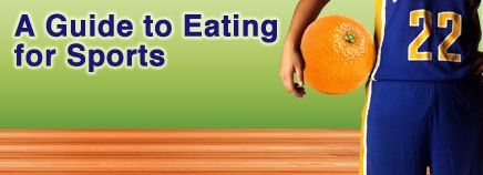 There's a lot more to eating for sports than chowing down on carbs or chugging sports drinks