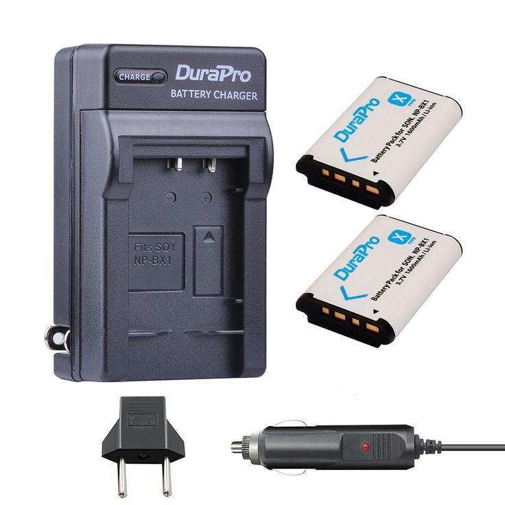 2pc NP-BX1 NP BX1 NPBX1 Battery+Car Charger+EU Plug For SONY DSC RX1 RX100 RX100iii M3 M2 RX1R WX300 HX300 HX400 HX50 HX60 GWP88 #Affiliate