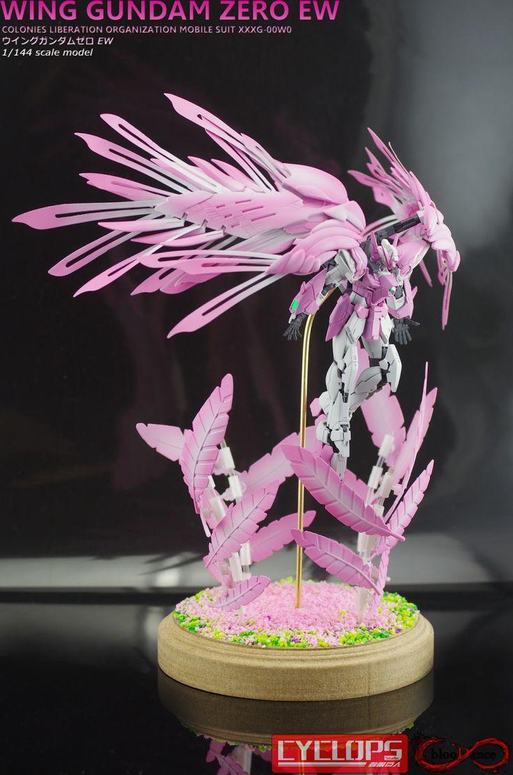 GUNDAM GUY: RG 1/144 Wing Gundam Zero - Diorama Build