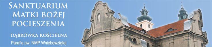 Sanktuarium w Dąbrówce Kościelnej.