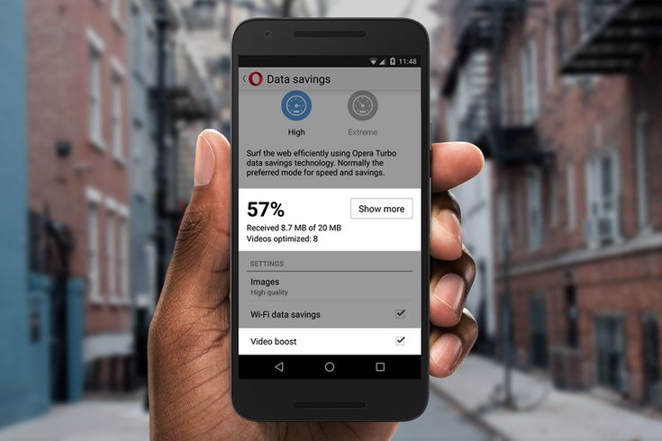 Opera Mini's new Video Boost will help you cut down on buffering times