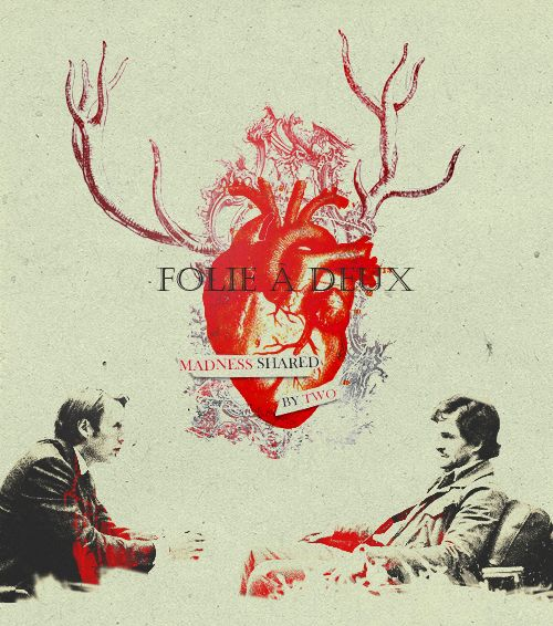 Hannibal - again with the amazing fab art. I like to think of this one as a little nod to my other love, The X-Files.