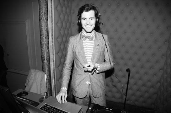 Le Baron Paris' DJ, Peter Pan, @ 26ème Festival du film de Cabourg