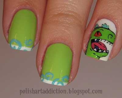 HALT I AM REPTAR!  but no for real...this girl is unbelievably talented. I'm J.